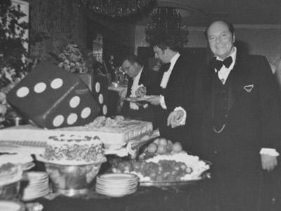 Harold Janoff at Crystal Plaza in 1978