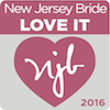 New Jersey Bride Love it 2016 award logo