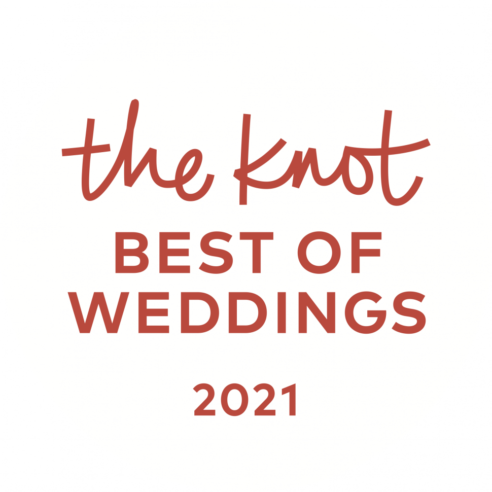 The Crystal Plaza received the Best of Weddings 2021 Award from The Knot