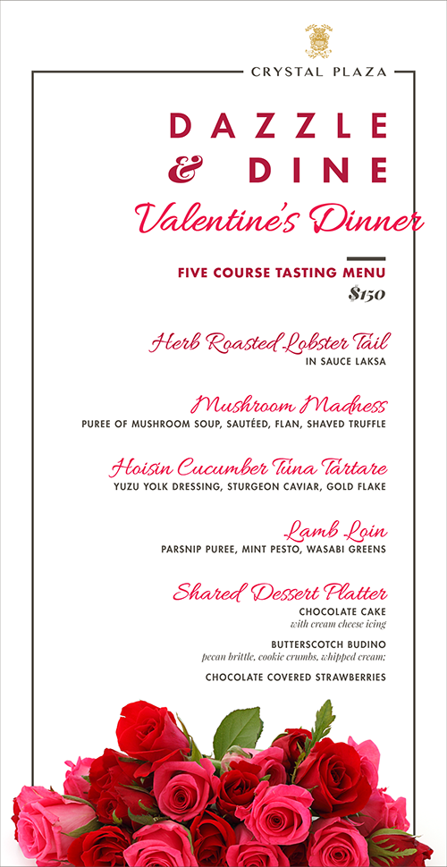 menu course descriptions